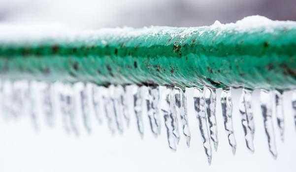 tubi ghiacciati